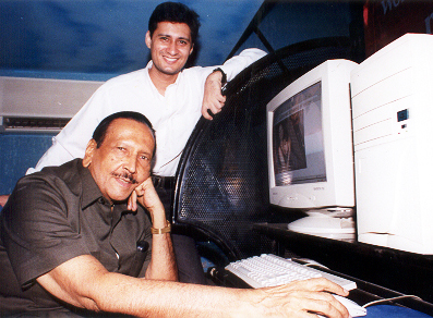 bunny Dale Bhagwagar Media Group's website was launched by veteran publicist Bunny Reuben