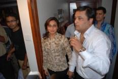 Rani and Rajaa Mukerji at the launch of Rajaa Mukerji's daily soap 'Kisi Ki Nazarr Na Lage' - Pic 2