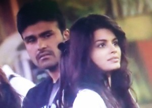 Aarya Babbar and Sonali Raut in Bigg Boss