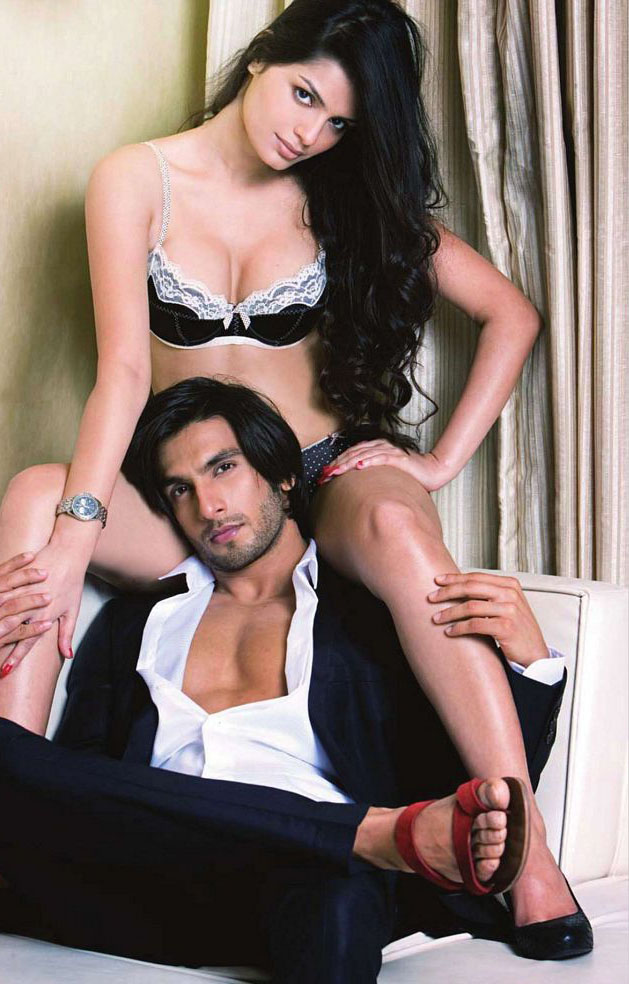 Ranveer Singh and Sonali Raut in Maxim magazine. - Pic 3