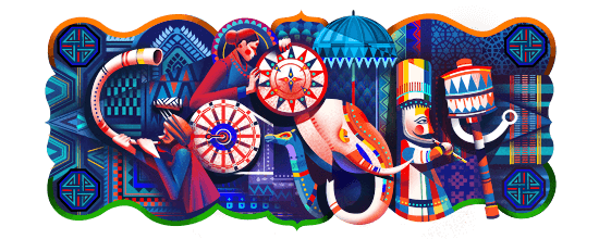 India Republic Day Google doodle