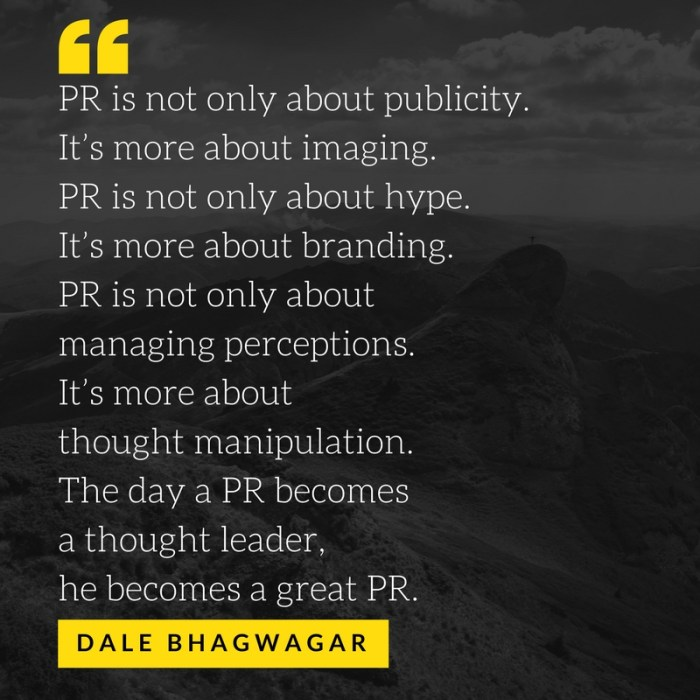 Dale Bhagwagar - Bollywood's only PR guru (5)