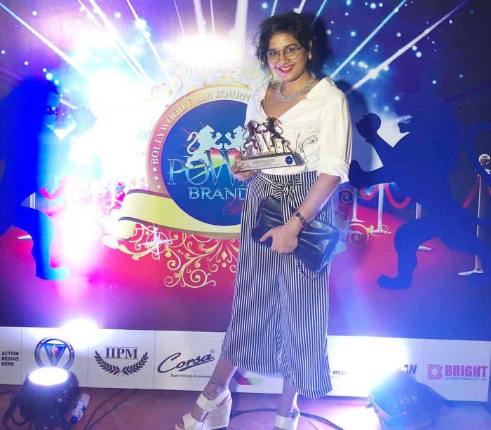 Preetisheel Singh gets the Power Brands Award