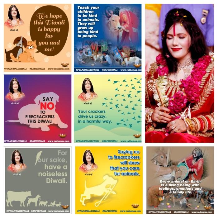Radhe Maa campaign collage 1