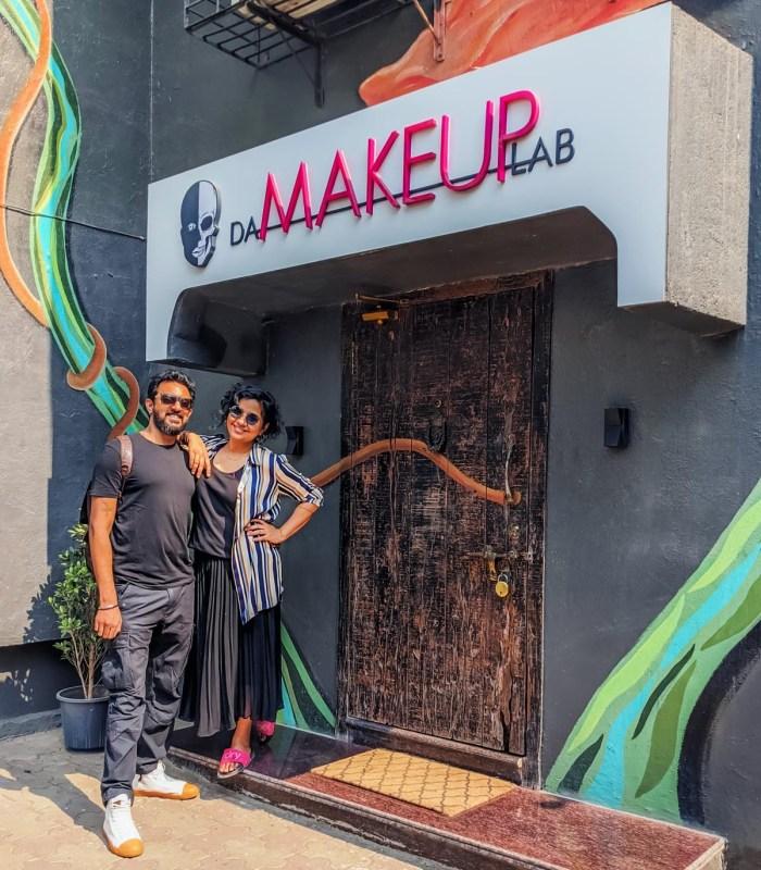 Mark D'souza and Preetisheel Singh, partners at Da Makeup Lab