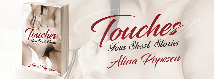 banner featuring cover of Touches: Four Short Stories by Alina Popescu