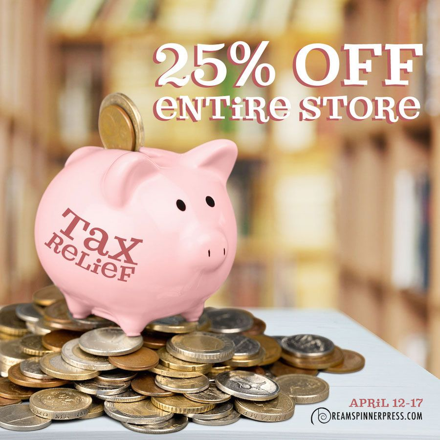photo of piggy bank to illustrate that books at dreamspinner press are 25% off