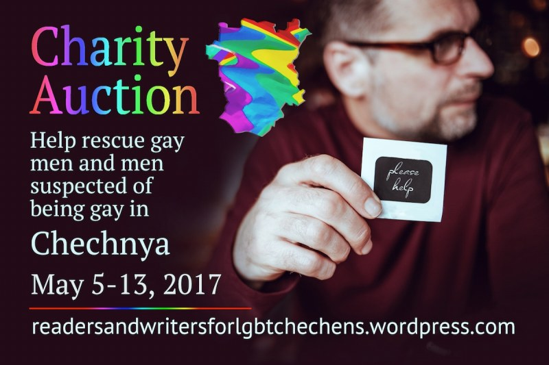 Link to fundraising auction for LGBT Chechens