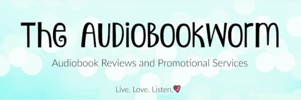 The Audiobookworm logo