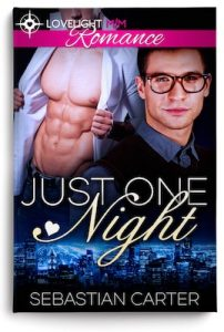 Just One Night by Sebastian Carter book cover copy