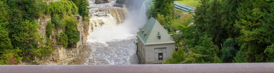 "Ausable Chasm: ""Grand Canyon of the Adirondacks"""