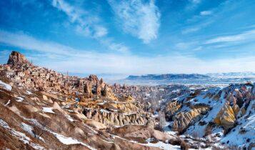 كابادوكيا من أشهر معالم تركيا السياحية