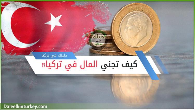 كيف تجني المال في تركيا
