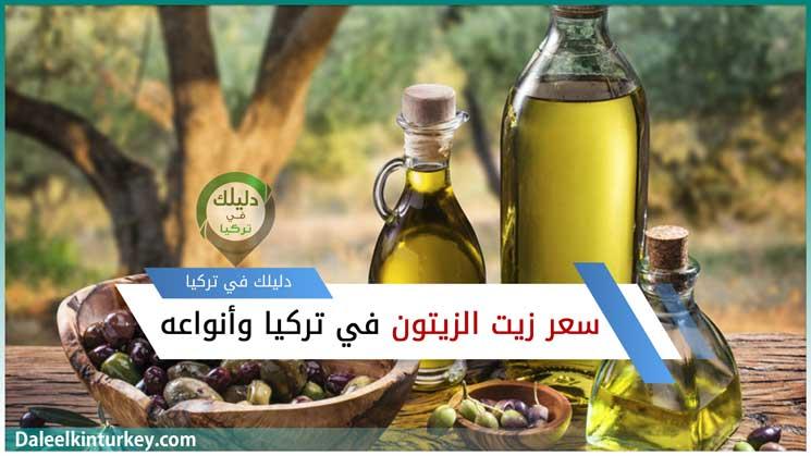 سعر زيت الزيتون في تركيا أنواعه وأماكن زراعة الزيتون
