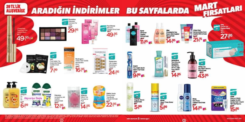 عروض WATSONS التركية للمكياج