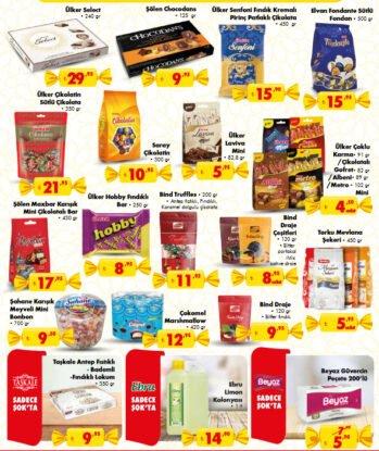 تخفيضات متجر الشوك ŞOK على الحلويات