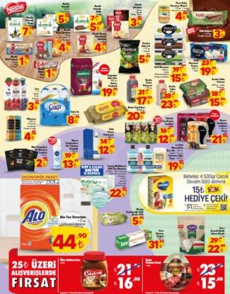 تخفيضات متجر الشوك ŞOK على المواد الغذائية والمنظفات