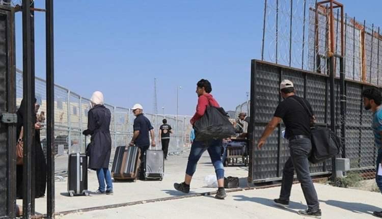 عدد السوريين العائدين إلى بلادهم