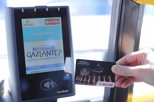 خطوط الباصات في غازي عنتاب