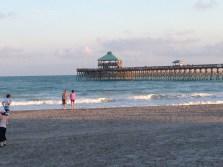 The pier at Folly Beach