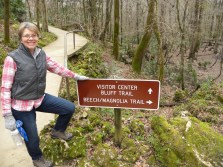 We loved the challenging Beech/Magnolia Trail