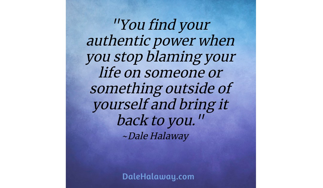 Finding our Authentic Power