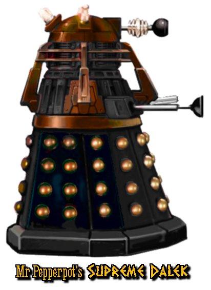 Dalek Concept Art  Dalektricity