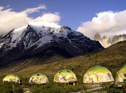 EcoCamp in Patagonia, Chile. Copyright Donnelle Oxley