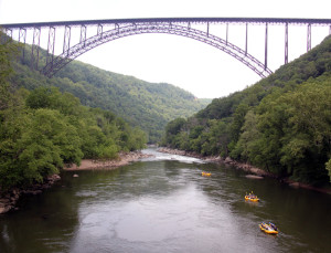 West Virginia's New River Bridge