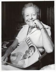 The late Alice Marble with her Life magazine cover