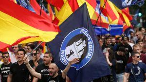 Estupor en Madrid, el PP no consigue una manifestación multitudinaria sumando falange y jóvenes neonazis
