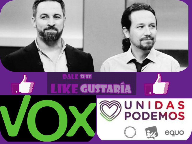 Vox ataca a Unidas Podemos «#PodemosCiao».