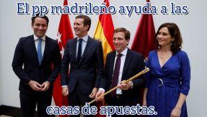 Madrid SALVA a las casas de apuestas.