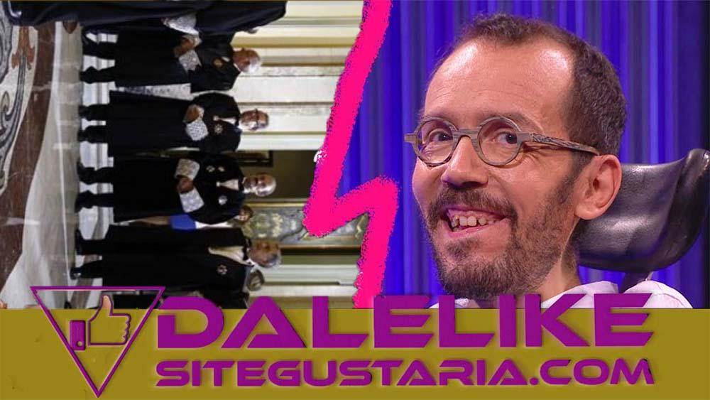 Pablo Echenique responde a críticas del CGPJ dirigidas a Iglesias