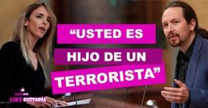 """Iglesias pedirá a su padre ejercer acciones legales contra Cayetana Álvarez por llamarle """"terrorista"""""""