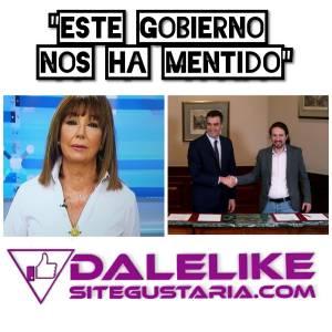 Ana Rosa Quintana arremete contra el gobierno de coalición en su regreso al programa de AR.
