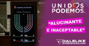 """""""Alucinante e inaceptable"""": Así califica Podemos la aprobación de Ley de Suelo en la Asamblea de Madrid"""