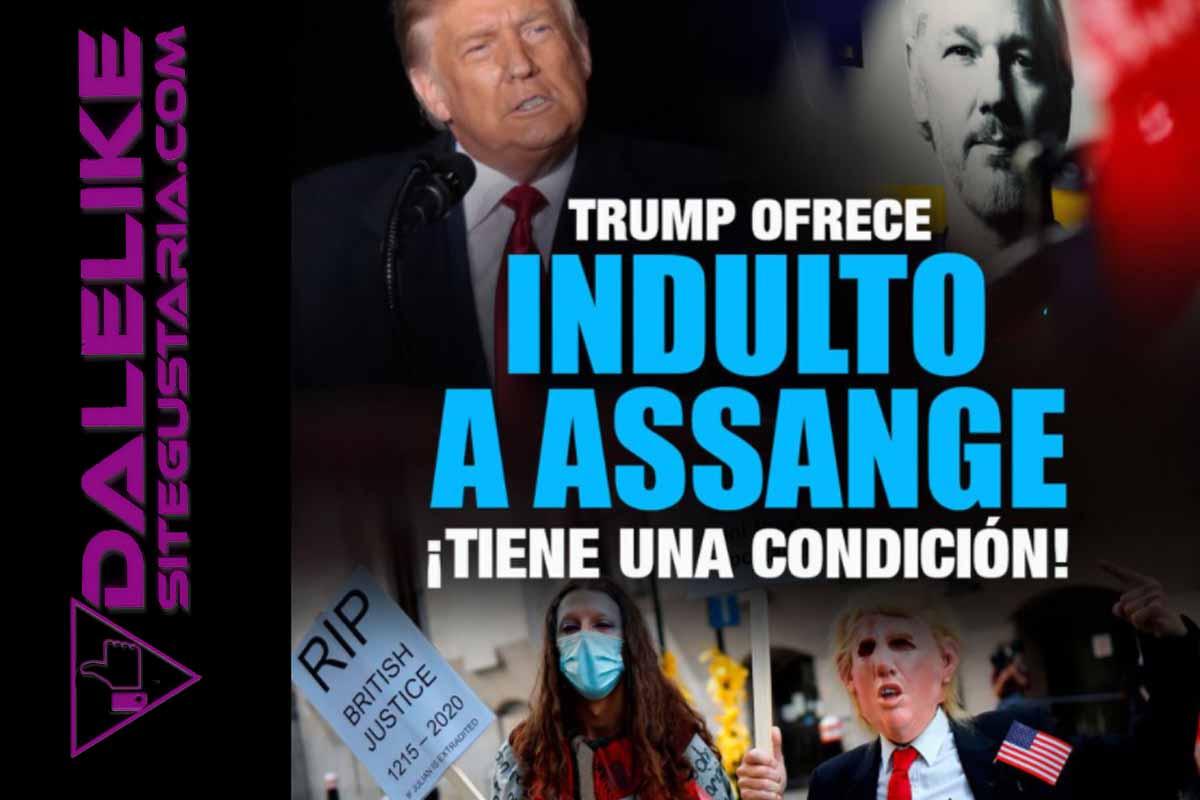 Donald Trump chantajea al Ciber-Activista Julian Assange fundador de Wikileaks