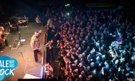 Iorio demostró que mantiene el heavy metal en su corazón