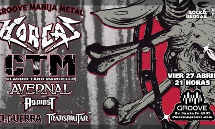 El metal en carne viva en Groove