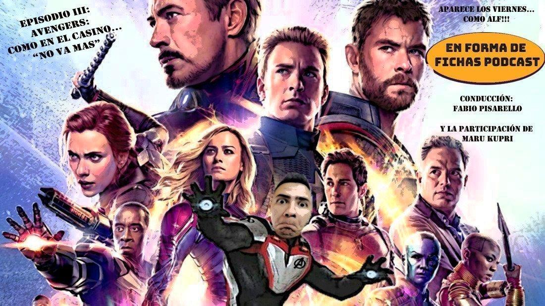 En forma de fichas 3: Avengers Endgame