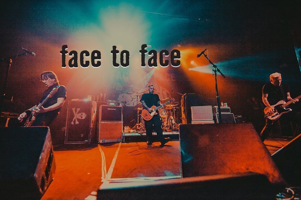Face to Face trae a Argentina su tour Latin American 2019