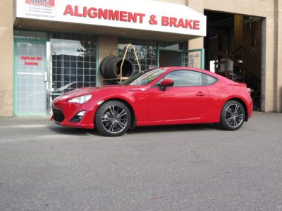 FRS getting ST coilovers and a 4 Wheel Alignment