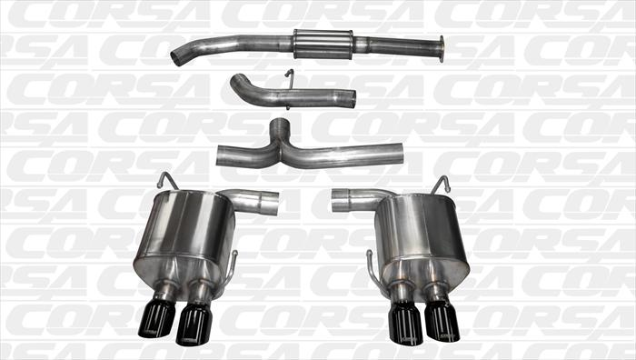 CORSA Performance catback exhaust systems for the 2015