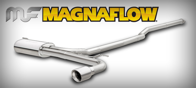 MagnaFlow is this stainless cat-back for the 2.5L '15 Ford Fusion