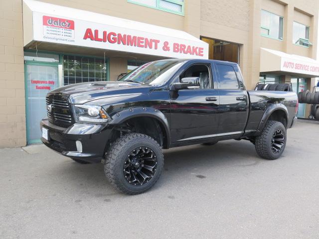"Dodge R1500 6"" Fabtech Lift with Dirt Logic shocks"