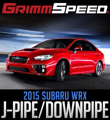 Grimmspeed downpipe and Takeda Intake for your '15+ WRX