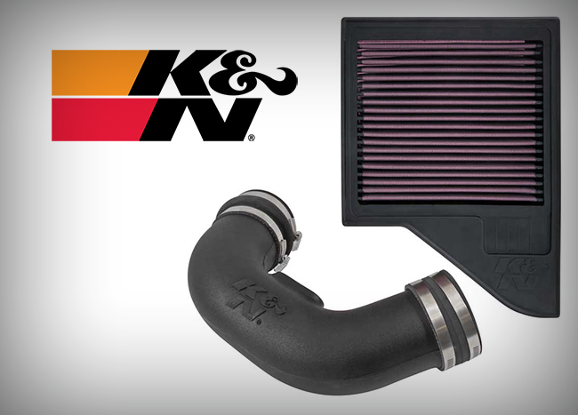 New: K&N Performance Intake for '11-14 Ford Mustang 5.0L