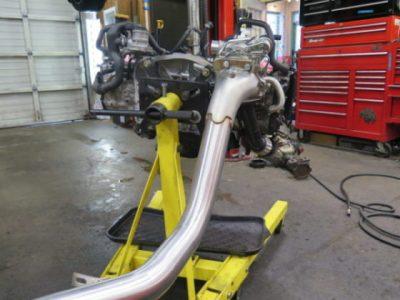 2011 Subaru STi in for a new short block, Killer B, ARP, Cobb, GRIMMSPEED…. at Dales Auto Service