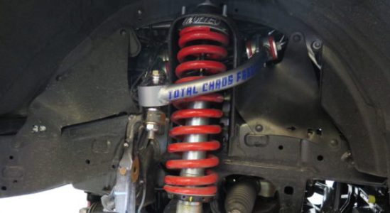 2014 4-Runner is for a Toytec BOSS Suspension kit at Dales Auto Service